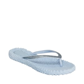 Ilse Jacobsen slippertjes - ijsblauw