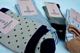 Beck Sondergaard  sokken - blauwe stip