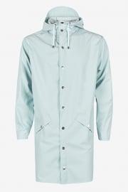 RAINS jas long - licht blauw