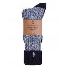 Holebrook sokken - blauw