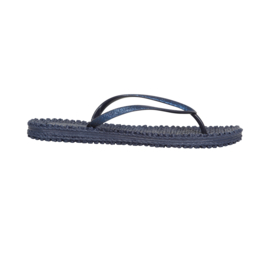 Ilse Jacobsen slippertjes - indigo blauw