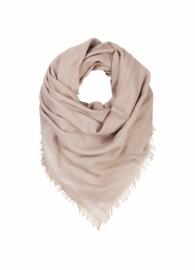 Beck Sondergaard sjaal - poederroze / zilver