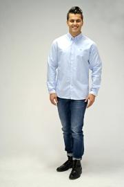 Kronstadt shirt - lichtblauw