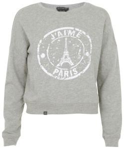 mbyM trui/sweatshirt Parijs - grijs
