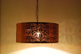 oosterse hanglamp filigrain stijl - cilinder