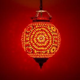 oosterse mozaïek hanglamp - diameter 25 cm-RO-TD
