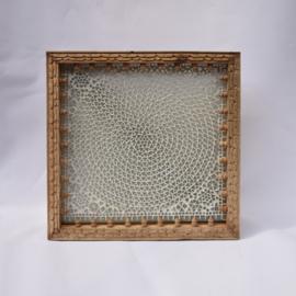 oosterse wandlamp mozaïek-vierkant 45X45