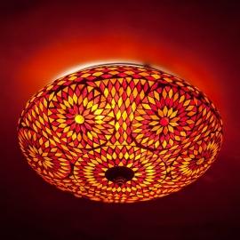 oosterse mozaïek plafonniere - diameter 38 cm.