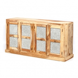 oosters dressoir met mozaïek panelen transparant