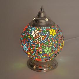 oosterse tafellamp mozaïek - diameter 15 cm-MC/FD