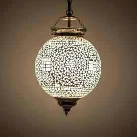 oosterse mozaïek hanglamp - diameter 25 cm-TRP
