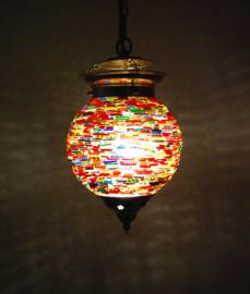 oosterse bangles hanglamp - diameter 15 cm.
