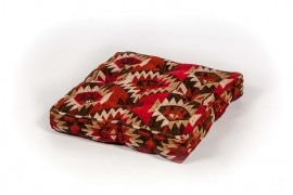 Oriental floor cushion - kilim design
