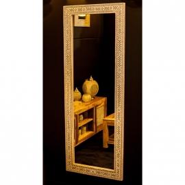 spiegel transparant met mozaïek frame