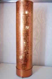 oosterse vloerlamp filigrain 60 cm - vintage koper