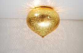 oosterse plafonniere filigrain - onion-vintage/goud