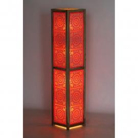 oosterse vloerlamp mozaïek - 120 cm.
