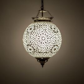 oosterse mozaïek hanglamp - diameter 25 cm-TRP-TD