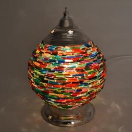 oosterse tafellamp bangles - diameter 15 cm-BAN-AC