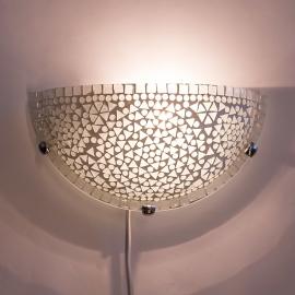 oosterse wandlamp mozaïek - halve maan