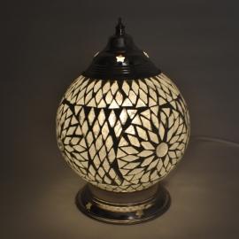 oosterse tafellamp mozaïek - diameter 15 cm-TRP-TD
