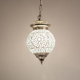 oosterse mozaïek hanglamp - diameter 15 cm.