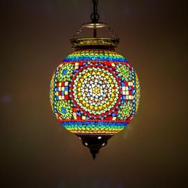 oosterse mozaïek hanglamp - diameter 25 cm-MC