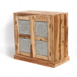 oosterse  lage kast met mozaïek panelen transparant