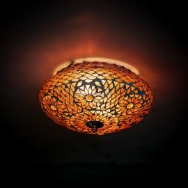 oosterse mozaïek plafonniere - diameter 25 cm.