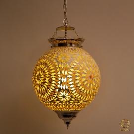 oosterse mozaïek hanglamp - diameter 25 cm-B/B-TD