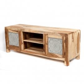 oosters tv meubel met mozaïek panelen transparant