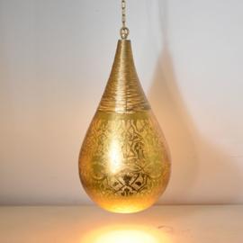 Oosterse hanglamp filigrain stijl-wire
