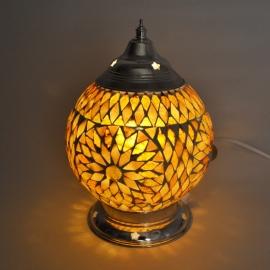 oosterse tafellamp mozaïek - diameter 15 cm-B/B-TD