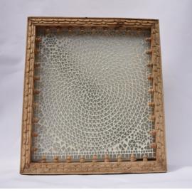 oosterse wandlamp mozaïek-vierkant