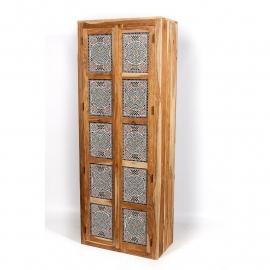oosterse extra hoge kast met mozaïek panelen multi