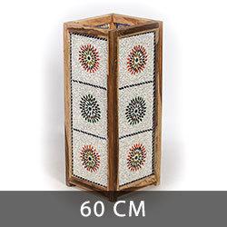 vloerlampen 60 centimeter mozaïek