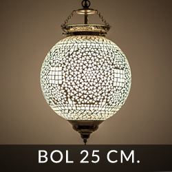 hanglamp bol met een diameter van 25 centimeter