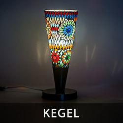 moderne tafellamp met een oosters tintje