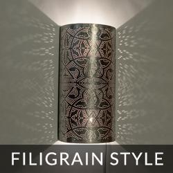 oosterse filigrain style wandlampen