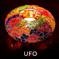 waxinehouder ufo