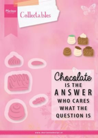 Marianne D Collectables: Chocolate is the Anwser
