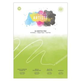 A4 Sketch Pad: 100gsm