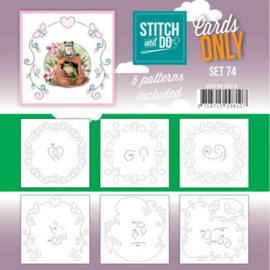 Stitch&Do: Cards Only Set 74