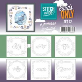 Stitch&Do: Cards Only Set 72