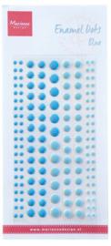 Marianne D Decoration Enamal dots - Blue
