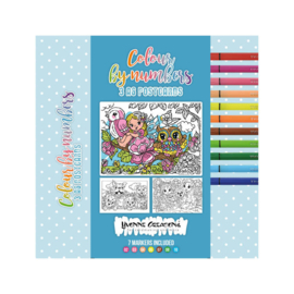 Colour by Numbers - Colour cards: CCYC10001