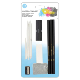 Charcoal Pencil Set (12pk)