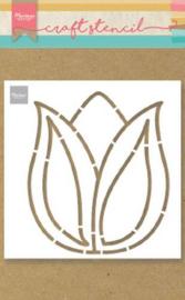 Marianne D Craft Stencil Tulp