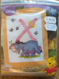 Borduurpakket: Disney Ieoor letter X