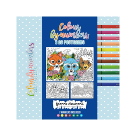 Colour by Numbers - Colour cards: CCYC10002